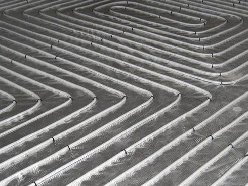 gulvafhøvling ved gulvvarme i gulv